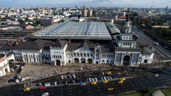 Казанский вокзал в Москве. - Sputnik Азербайджан