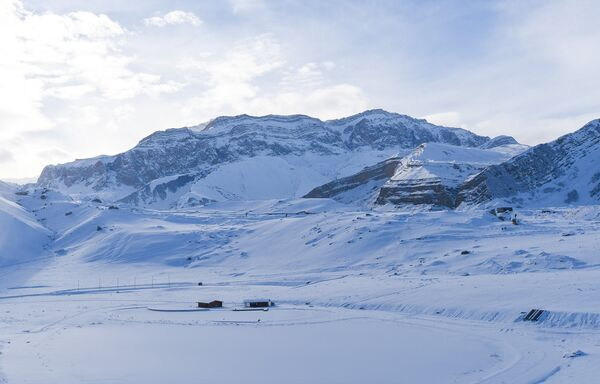 Горнолыжный курорт Шахдаг в Азербайджане - Sputnik Азербайджан