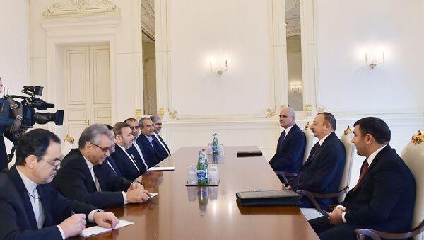 Ильхам Алиев принял делегацию во главе с министром связи и информационных технологий Ирана - Sputnik Азербайджан