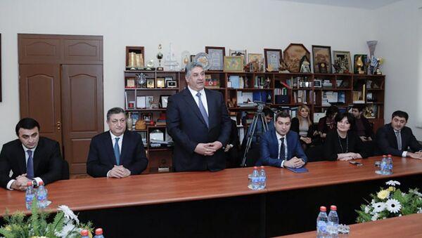 Министр молодежи и спорта Азад Рагимов отчитался по итогам 2016 года - Sputnik Азербайджан