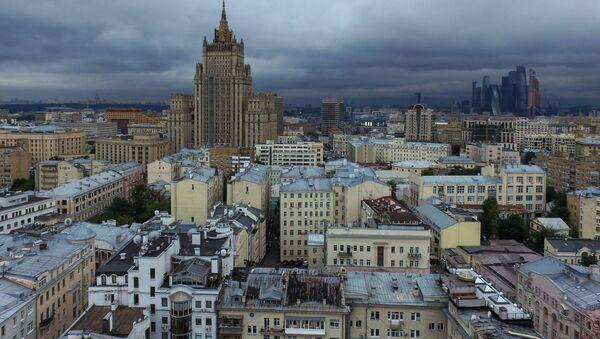 Здание министерства иностранных дел России в Москве - Sputnik Азербайджан