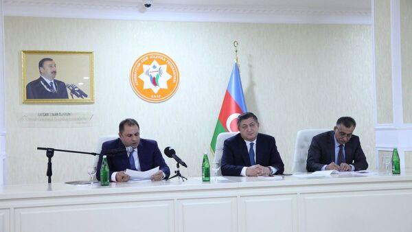 Azərbaycan Ağır Atletika Federasiyasının Hesabat-Seçki Konfransı - Sputnik Azərbaycan