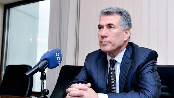 Первый вице-спикер Милли Меджлиса АР Зияфет Аскеров - Sputnik Азербайджан