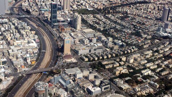 Вид на столицу Израиля город Тель-Авив - Sputnik Азербайджан