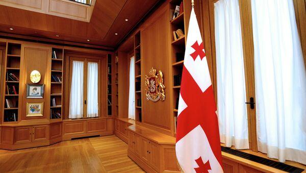 Рабочий кабинет президента Грузии, фото из архива - Sputnik Азербайджан