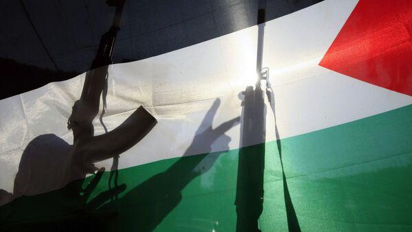 Fələstin bayrağı, arxiv şəkli - Sputnik Azərbaycan