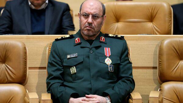 Министр обороны Ирана генерал Хосейн Дехган, фото из архива - Sputnik Азербайджан