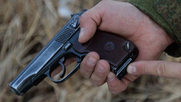Пистолет Макарова, фото из архива - Sputnik Азербайджан