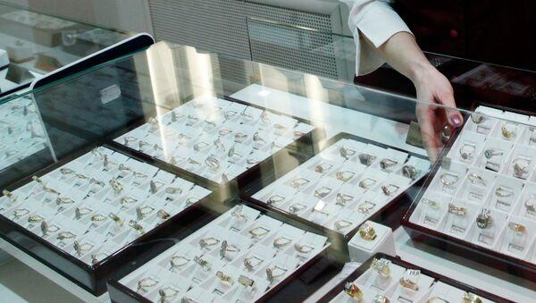 Ювелирные украшения, фото из архива - Sputnik Азербайджан