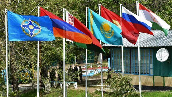 Флаги стран-участниц Организации Договора о коллективной безопасности - Sputnik Azərbaycan