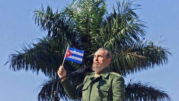 Fidel Kastro - Sputnik Azərbaycan
