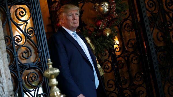 Новоизбранный президент США Дональд Трамп - Sputnik Азербайджан