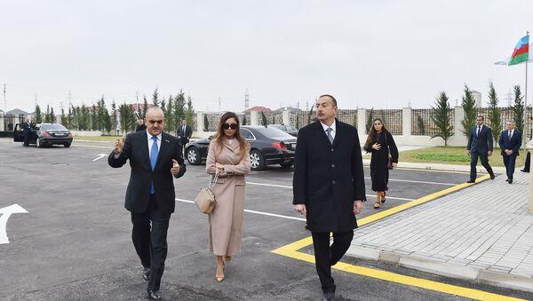 Президент Ильхам Алиев на открытии Центра социальной реабилитации - Sputnik Азербайджан