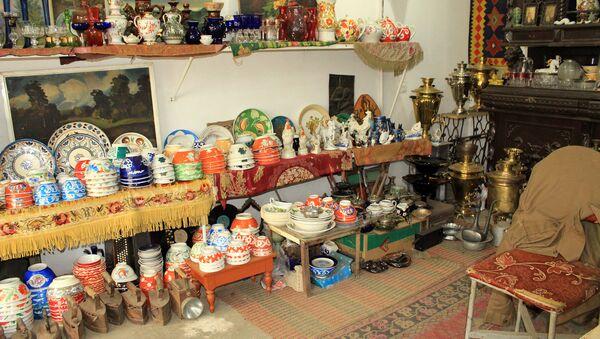 Магазин антикварных товаров Магара в Лянкяране - Sputnik Азербайджан