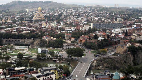 Исторический центр в Тбилиси, фото из архива - Sputnik Азербайджан