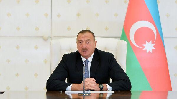 İlham Əliyev - Sputnik Azərbaycan
