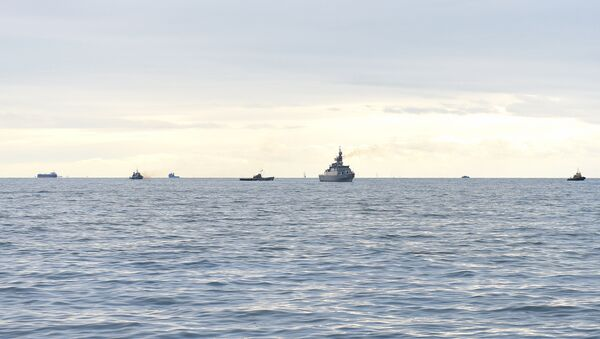 Корабли в Каспийском море, фото из архива - Sputnik Азербайджан