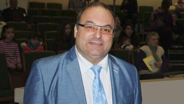 Председатель Национального конгресса армян Украины Ашот Аванесян - Sputnik Азербайджан
