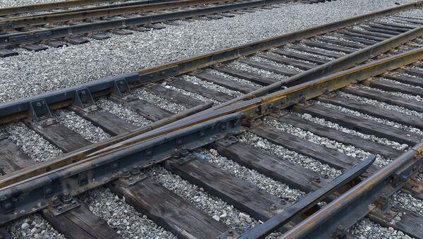 Железная дорога, фото из архива - Sputnik Azərbaycan