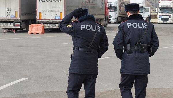 Азербайджанские полицейские, фото из архива - Sputnik Азербайджан