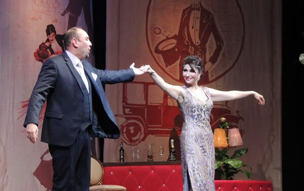 В Азербайджанском государственном музыкальном театре состоялась премьера оперетты Имре Кальмана Сильва - Sputnik Азербайджан
