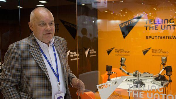 Руководитель информационного агентства Россия сегодня Дмитрий Киселев - Sputnik Азербайджан