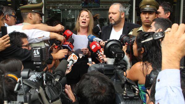 Чилийская прокуратура обвинила невестку президента страны Мишель Бачелет Наталиу Компаньон в мошенничестве - Sputnik Азербайджан