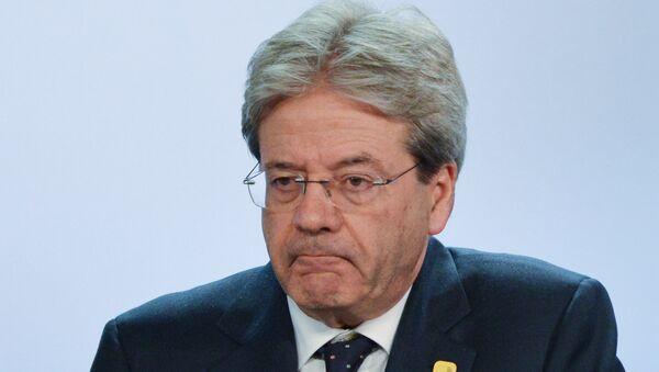 Премьер-министр Италии Паоло Джентилоне - Sputnik Азербайджан