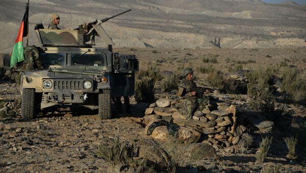 Операция против боевиков Исламского государства в афганской провинции Нангархар, фото из архива - Sputnik Azərbaycan
