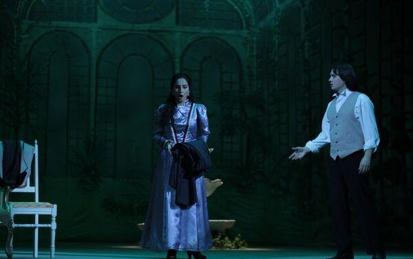 Спектакль Травиата на сцене Азербайджанского государственного академического театра оперы и балета. - Sputnik Азербайджан