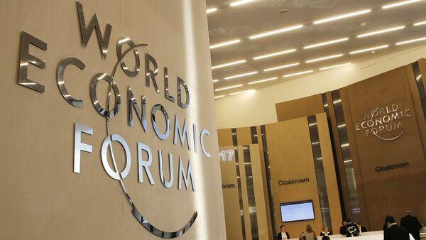 Всемирный экономический форум в Давосе - Sputnik Azərbaycan