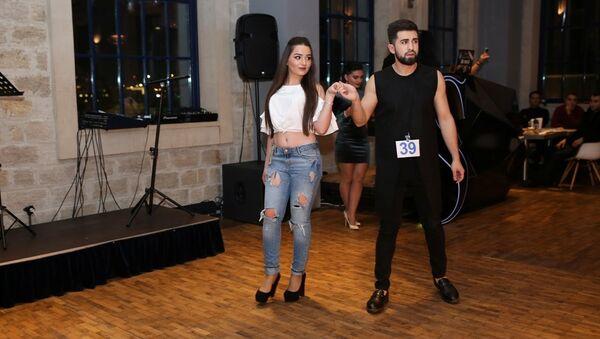 Вечеринка-презентация полуфиналистов Национального конкурса красоты Miss & Mister Azerbaijan-2017 - Sputnik Азербайджан