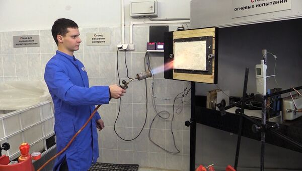 В России разработана уникальная пожарная пена - Sputnik Азербайджан