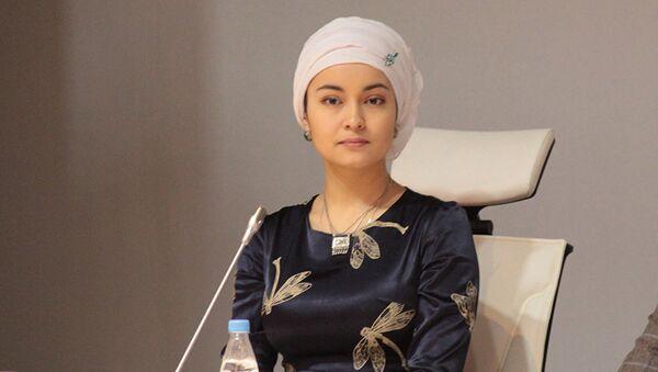 Казахстанская актриса Бибигуль Актан Суюншалина - Sputnik Азербайджан