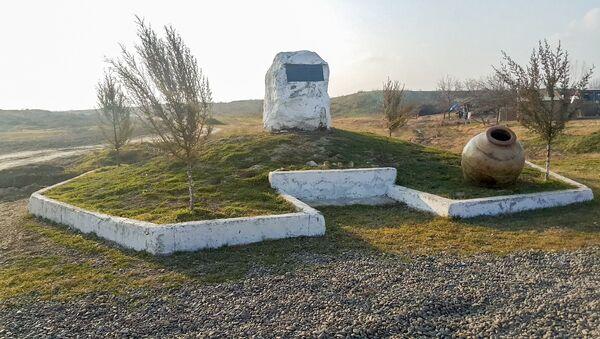 Beyləqan rayonunun Kəbirli kəndi yaxınlığındakı Örənqala ərazisi - Sputnik Azərbaycan