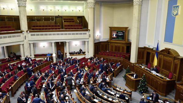 Заседание Верховной рады Украины, 17 января 2017 года - Sputnik Азербайджан