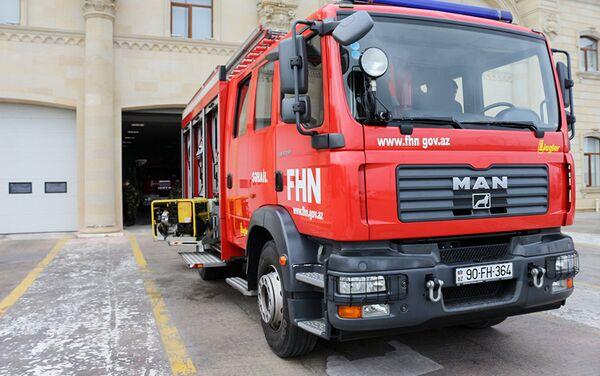 Государственная противопожарная служба оснащена оборудованием и техникой в соответствии с европейскими стандартами - Sputnik Азербайджан