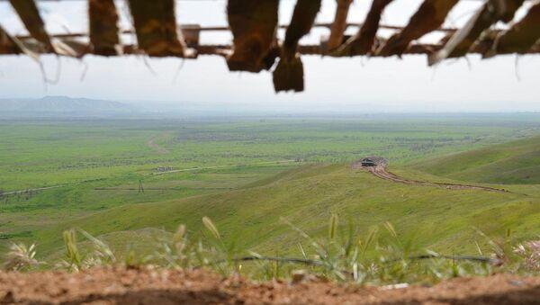 Вид на освобожденное от оккупации село Чоджук Марджанлы Джабраильского района - Sputnik Азербайджан