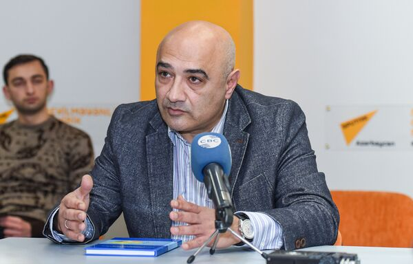 Пятидесятое заседание Клуба политологов Южный Кавказ - Sputnik Азербайджан