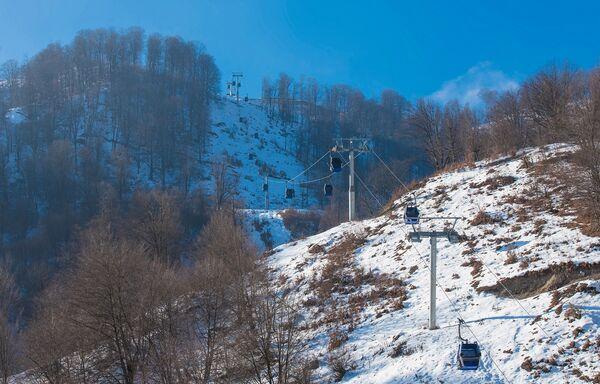 Зимняя сказка в Габале - Sputnik Азербайджан