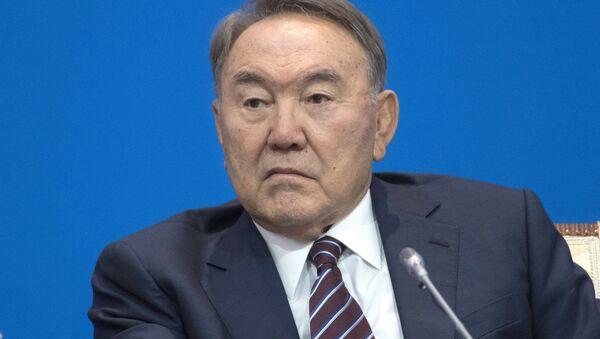Президент Казахстана Нурсултан Назарбаев - Sputnik Азербайджан