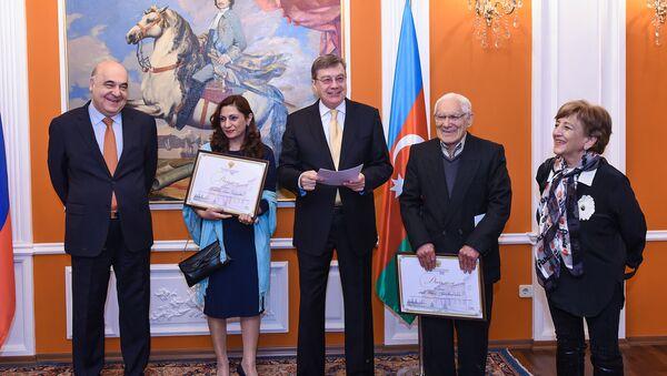 Церемония вручения литературной премии Посла России в Азербайджане - Sputnik Азербайджан