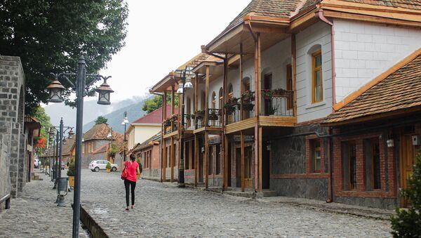 Qax rayonundakı İçəri bazar qala kompleksi - Sputnik Azərbaycan