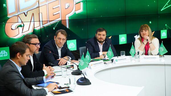 НТВ в партнёрстве со Sputnik представил новое шоу Ты супер! - Sputnik Азербайджан