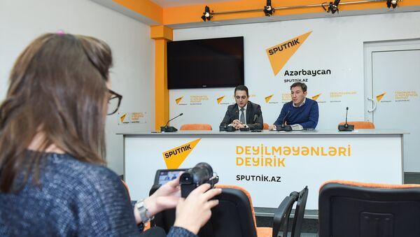 Пресс-конференция на тему Ситуация на рынке автомобилей: сколько будет длиться простой? - Sputnik Азербайджан