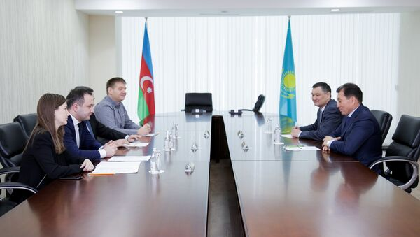 В Казахстане подписано соглашение о получении площади под азербайджанский национальный павильон на международной выставке EXPO-2017: Энергия будущего в Астане - Sputnik Азербайджан