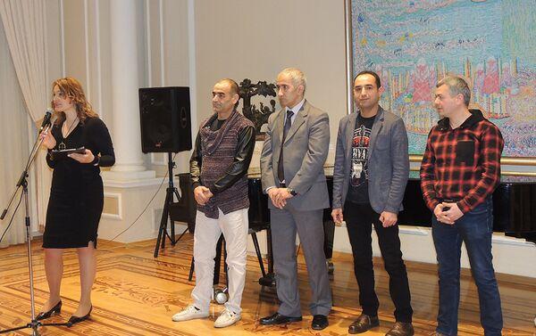 Открытие выставки Реинкарнация - Sputnik Азербайджан
