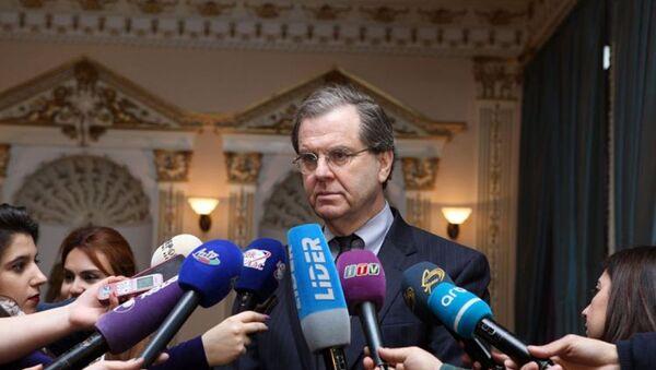 Исполнительный директор Еврейского комитета США Дэвид Харрис - Sputnik Азербайджан