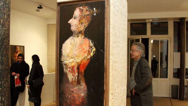 Нияз Наджафов выставил свои работы в известной галереи Парижа Schwab Beaubourg - Sputnik Азербайджан