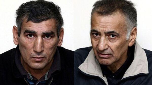 Шахбаз Гулиев (слева) и Дильгам Аскеров - Sputnik Азербайджан